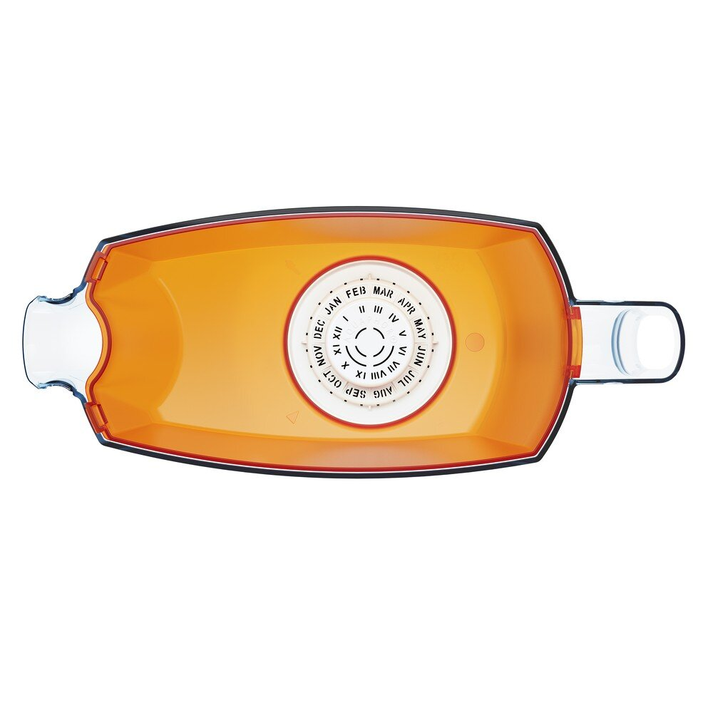 Аквафор Лаки В5, оранжевый вид сверху