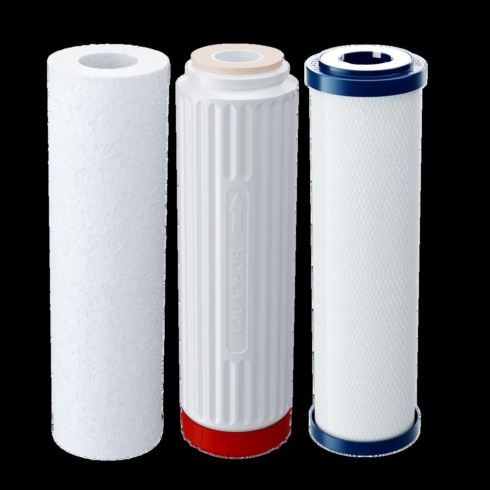 Комплект сменных модулей глубокой очистки и умягчения воды низкой и средней жесткости