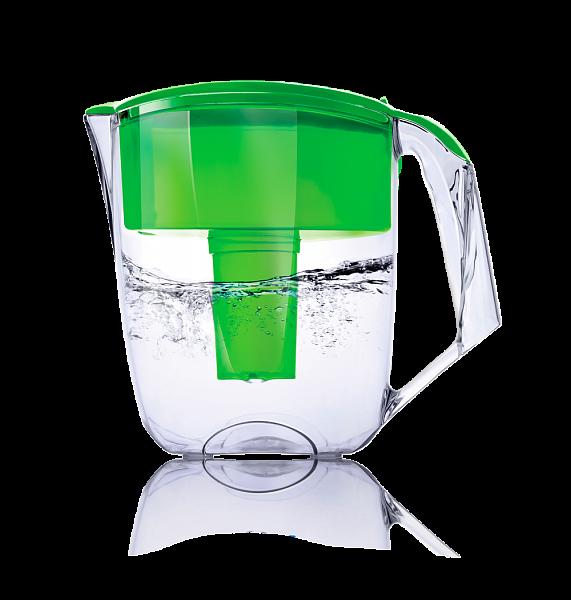 Фильтр-кувшин ECOSOFT Максима зеленый 5 л