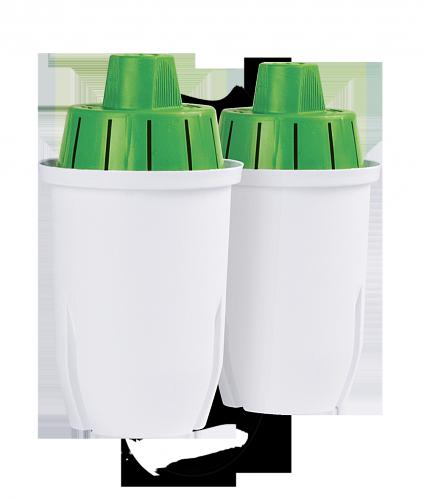 Комплект улучшенных сменных картриджей ECOSOFT к фильтрам-кувшинам 2 шт. без коробки