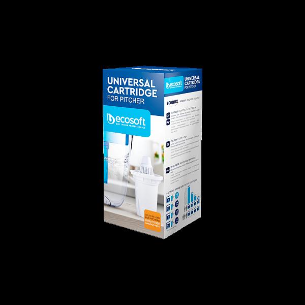 Универсальный картридж ECOSOFT для фильтров-кувшинов